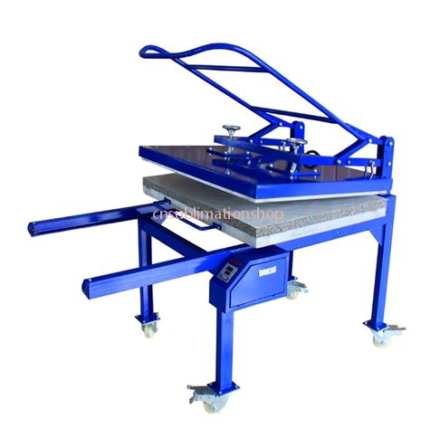 Manual Large Format Big Size Sublimation Heat Press Transfer Printing Machine BF01