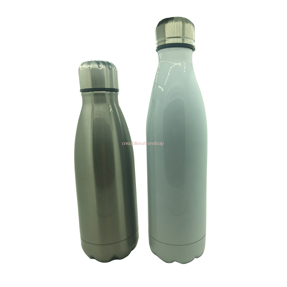 17 Oz Cola Bottle-Double Walled Vacuum Thermos-Cola Style Water Bottle Tumbler