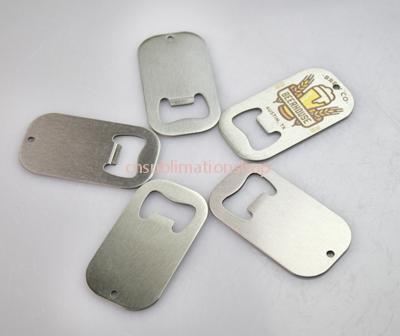 Sublimation Metal Bottle Openers/Dog Tap Shape Bottle Opener